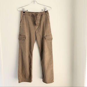 Sz (10-12) Boy's Brown Wrangler Cargo Pants